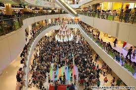 hk shopping crowd